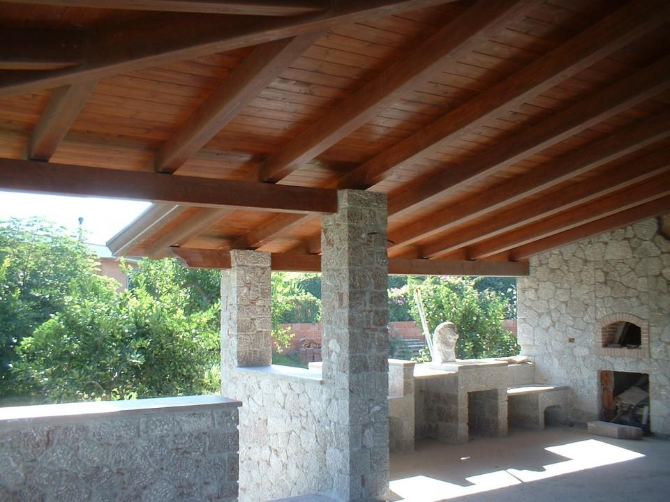 Tettoie in legno riall prefabbricati in legno - Tettoie in legno ...