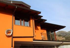 Copertura casa tetto in legno