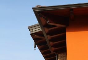 Copertura in legno per case