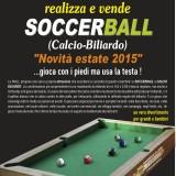 Calcio Biliardo : prezzi e misure